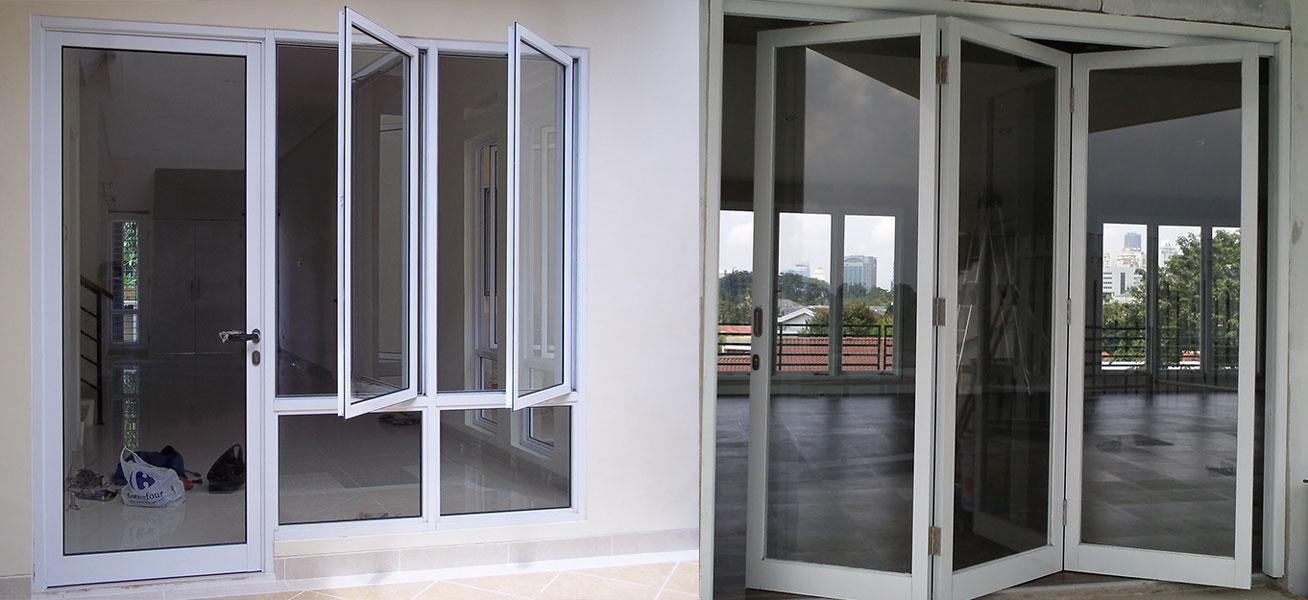 Kusen Pintu Aluminium Untuk Rumah Minimalis